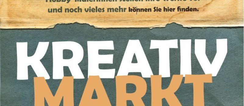 Kreativmarkt 2019 am 17.11. im Haus der Begegnung
